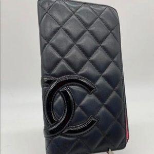 Chanel Cambon Yen Wallet